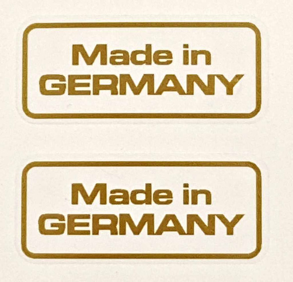 Made in Germany Decals - 1 Pair