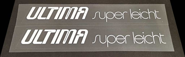 Austro Daimler Bicycle Ultima Super Leicht Top Tube Decals - 1 Pair - Choose Color