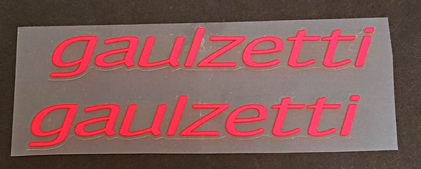 Gaulzetti Bicycle Stay Decals - 1 Pair - Choose Color