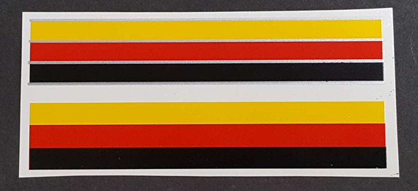 Technobull Bicycle Stripes Decals - 1 Pair