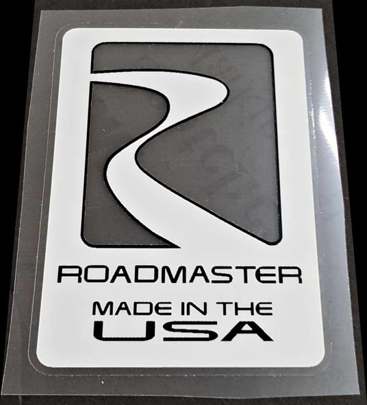 Roadmaster Made in USA Decal