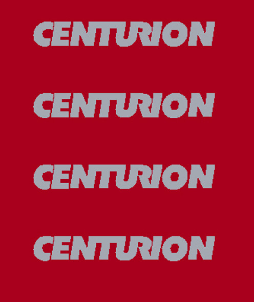 Centurion Seat Stay Top Decals - 2 Pair - Choose Color
