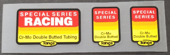 Specialized Tange Racing Frame/Fork Tubing Decals