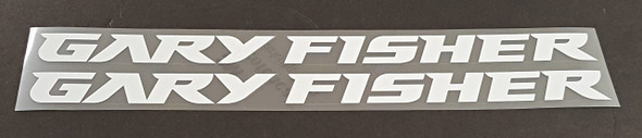 Gary Fisher Bicycle Down Tube Decals - 1 Pair - Choose color