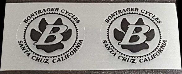 Bontrager Cycles Badge Decals - 1 Pair