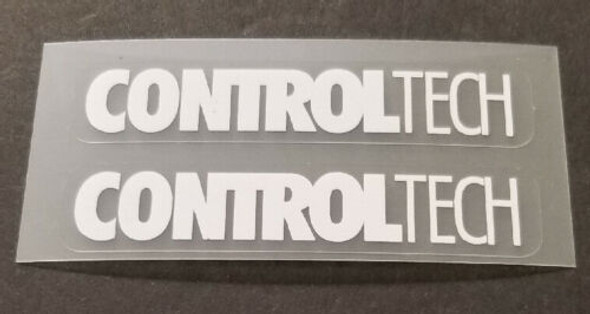 ControlTech Fork Component Decals - 1 Pair - White