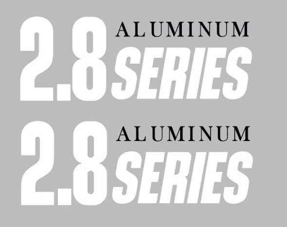 Cannondale 2.8 Series Top Tube Decals - 1 Pair - Choose Colors
