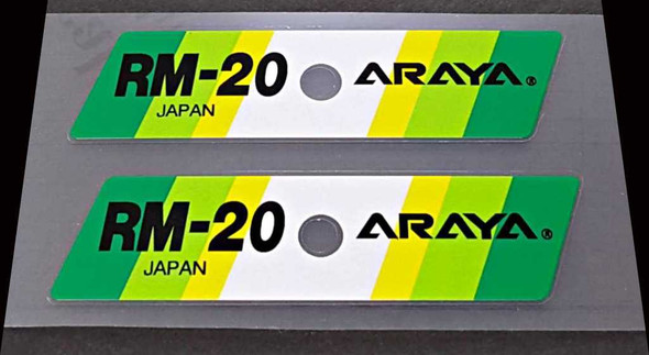 Araya RM-20 Bicycle Rim Decals - 1 Pair