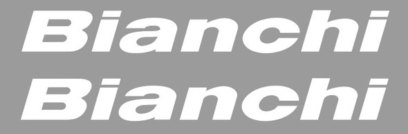 Bianchi Top Tube Decals  - 1 Pair - Choose Colors