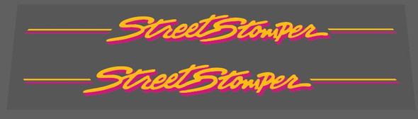 Specialized Street Stomper Down Tube Decals  - 1 Pair - Choose Colors