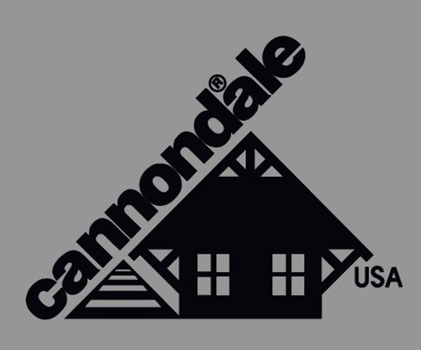 Cannondale Classic Head Badge with R Decal Large- Choose Color