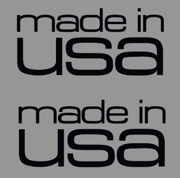 Cannondale Made in USA Large Decal - 1 pair
