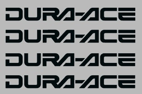 Shimano / Dura-Ace Badge Component Decal 45mm - 2 Pair - Choose Color