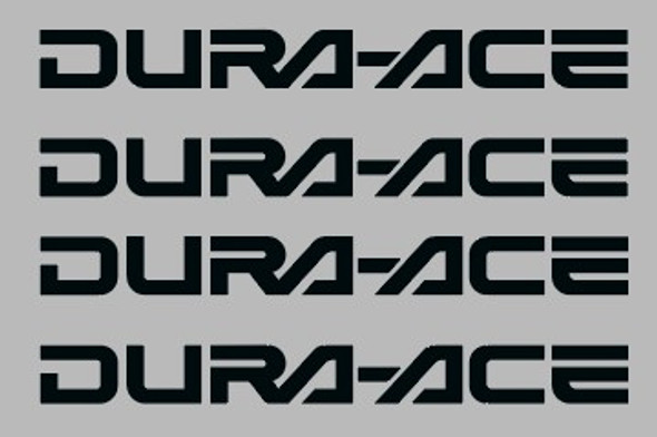 Shimano / Dura-Ace Badge Component Decal Squared U 45mm - 2 Pair - Choose Color