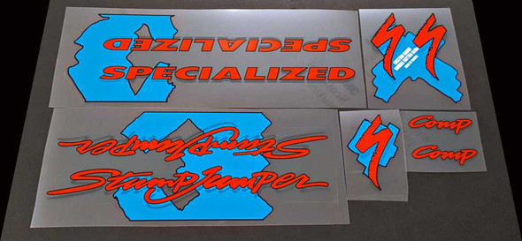 Specialized Stumpjumper Comp Bicycle Decal Set