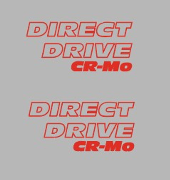 Specialized Direct Drive Cr-Mo Fork Decals - 1 Pair - Choice of Color