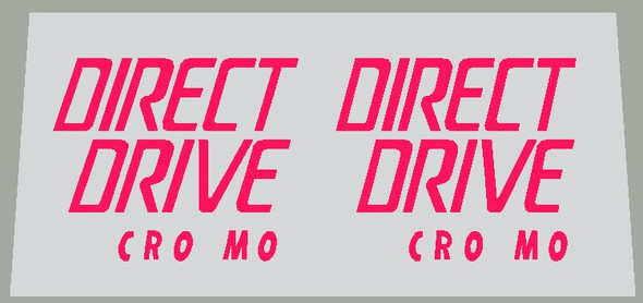 Specialized Rockhopper Direct Drive Cro Mo Fork Decals - 1 Pair - Choice of Color