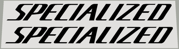 Specialized Large 2000's Stumpjumper Down Tube Decals 354mm x 35mm - 1 Pair - Choose Color