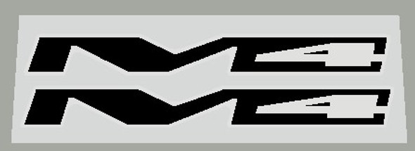 Specialized StumpJumper M4 Top Tube/Chain Stay Decals - 1 Pair - Choice of Color