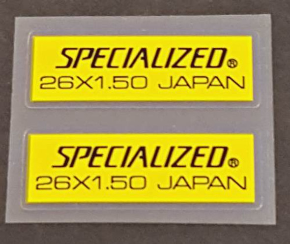 Specialized 26x1.50 Japan Wheel Decal - 1 Pair