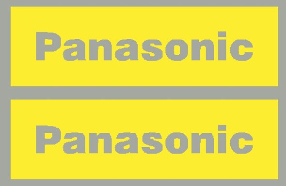 Panasonic Down Tube Stencils - 1 Pair - Choose Format
