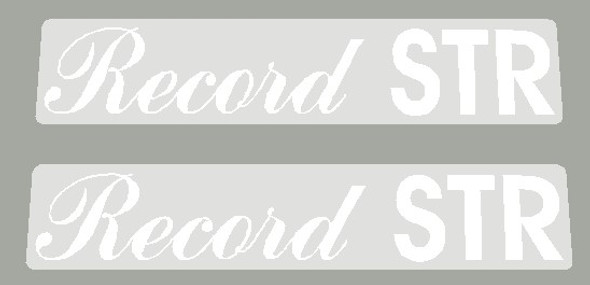 Maruishi 1980's Record STR Top Tube Decals - 1 Pair - Choose Color