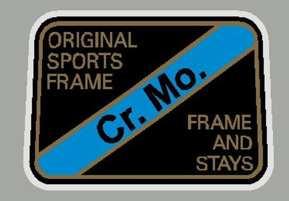 Maruishi Cr. Mo. Frame and Stay Decal - 1 piece
