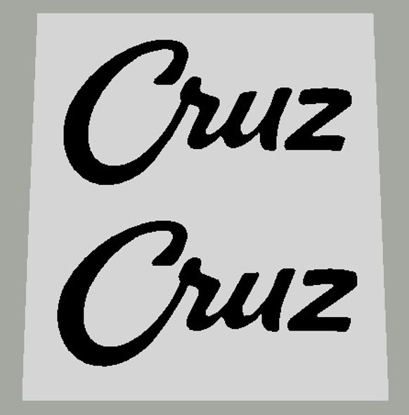 Specialized Cruz Stay Decals - 1 Pair - Choose Color
