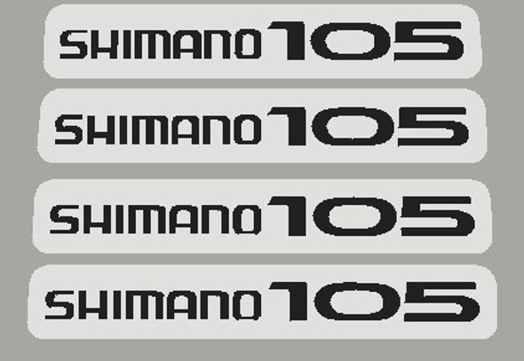 Shimano 105 Gear Select Lever Decals - 2 Pair - Choose Color
