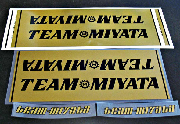 Miyata Team Miyata Decal Set