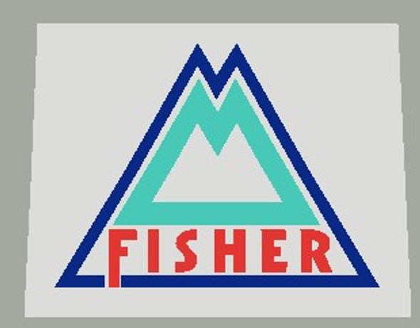 Copy of Gary Fisher Bicycle Seat Tube / Head Badge Decal  with clear background-1 Piece- Choose colors