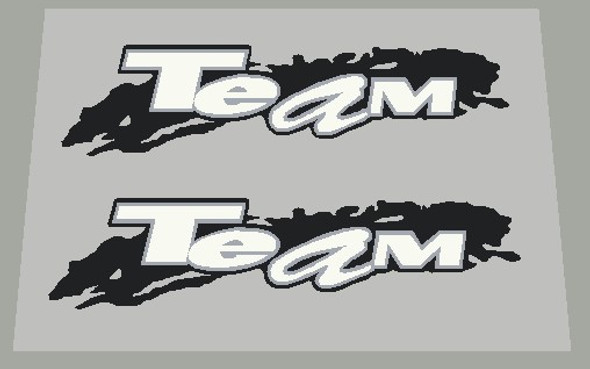 Specialized 1993 Team Top Tube Decals  - 1 Pair - Choose Colors