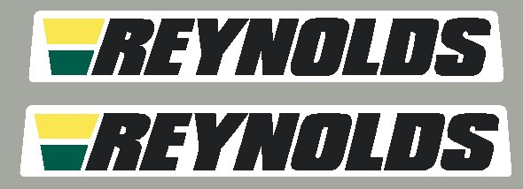Reynolds Chain Stay Decal - 1 Pair