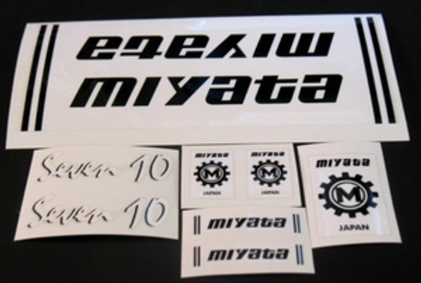 Miyata 710 Bicycle Decal Set