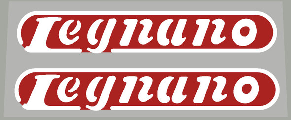 Legnano Bicycle 1960's Down Tube Decals - 1 Pair  - Choose Colors