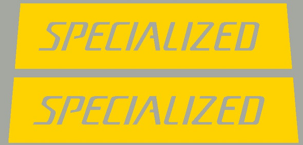 1992 Small Specialized Top Tube Paint Stencils - 1 Pair - Choose Format