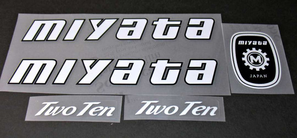 Miyata 1984 210 Bicycle Decal Set