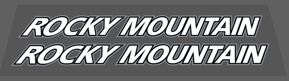 Rocky Mountain 1999 Down Tube Decals - 1 Pair - Choice of Colors