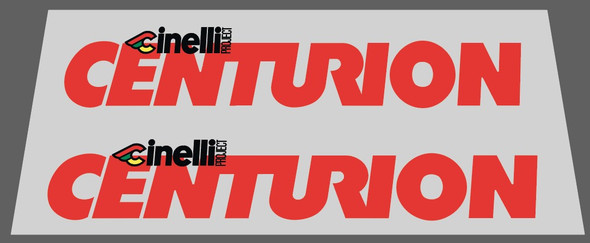 Centurion Cinelli Project Down Tube Decals - 1 Pair - Choose Color
