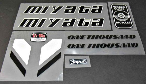 Miyata 1986 1000 Bicycle Decal