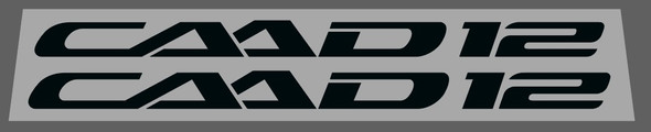 Cannondale CAAD 12 Stay Decals - 1 Pair - Choose Color