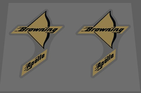 Browning Apollo Bow Decals - 1 Pair