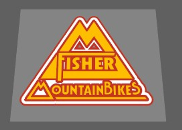 Gary Fisher Montare Mountain Bikes Seat Tube / Head Badge Decal 3 colors-1 Piece- Choose colors