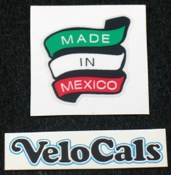Made In Mexico Decals - Choice of 2 (sku 741)