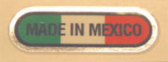 Made in Mexico Decal - Oval Style