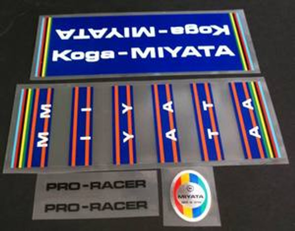 Koga Miyata Pro Racer Bicycle Decal Set