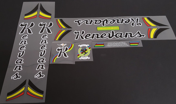 Kenevans Bicycle  Decal Set