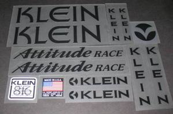 Klein Attitude Race Bicycle Decal Set (sku 920)