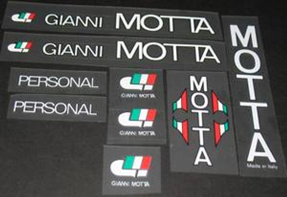 Gianni Motta Decal Set