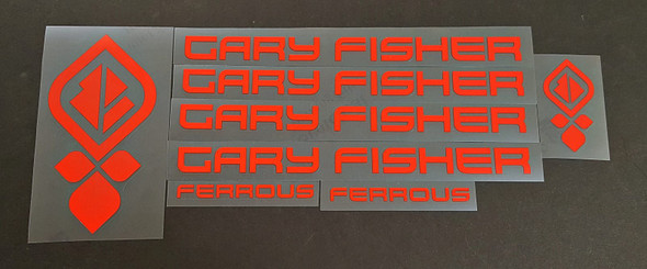Gary Fisher Ferrous Bicycle Decal Set